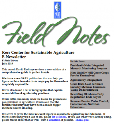 Field Notes July 2019 cover
