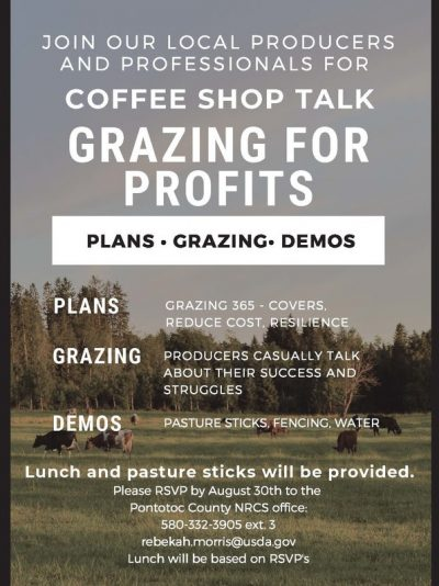 Coffee Shop Talk: Grazing @ Ada (Pontotoc Technology Center)