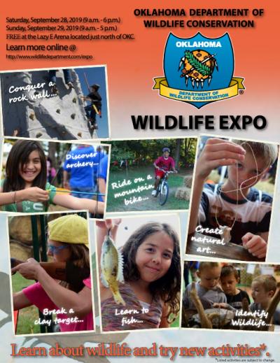 Wildlife Expo 2019 @ Oklahoma City (Lazy E Arena)