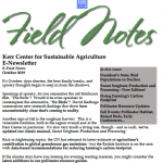 field notes october 2019
