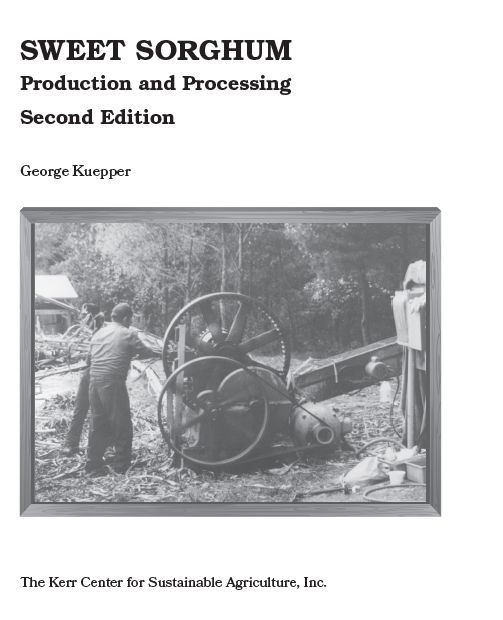 Sweet Sorghum Production and Processing: New Edition Released