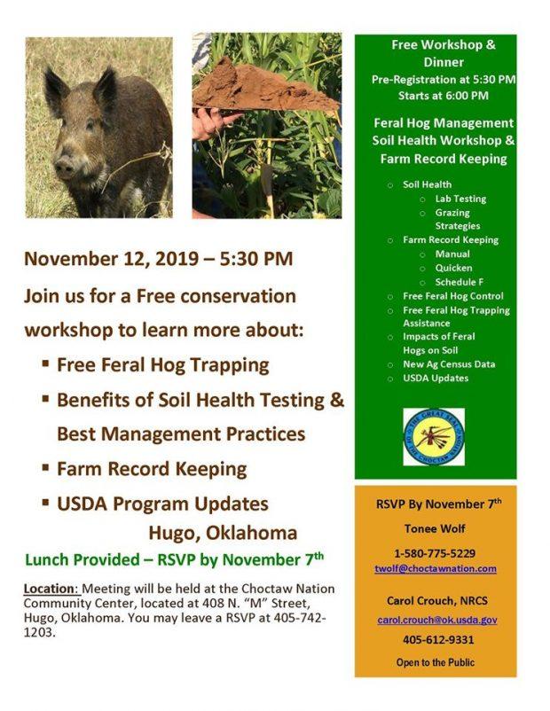Feral Hog Management