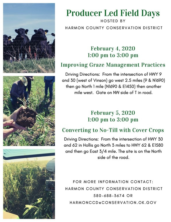 Harmon County Field Days: Improving Grazing Management Practices