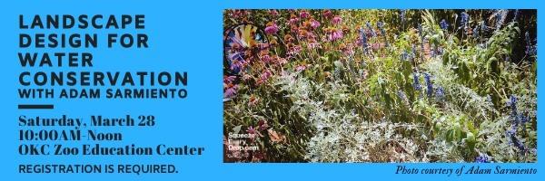 POSTPONED: Landscape Design for Water Conservation