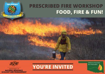 POSTPONED: Prescribed Fire Workshop - Food, Fire, & Fun! @ Edmond (Arcadia Conservation Education Area)