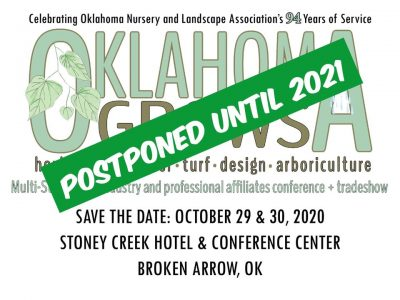 POSTPONED: Oklahoma Grows Conference & Trade Show @ Broken Arrow (Stoney Creek Hotel & Conference Center)