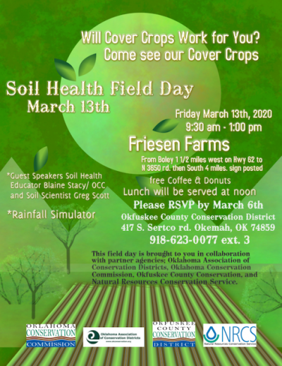 Will Cover Crops Work for You?  Soil Health Field Day @ Boley (Friesen Farms)