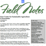 field notes july 2020