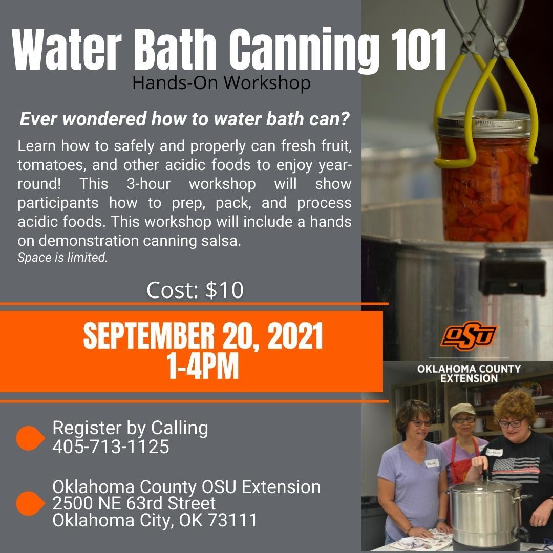 water bath canning 101
