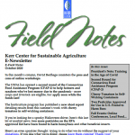field notes october 2020