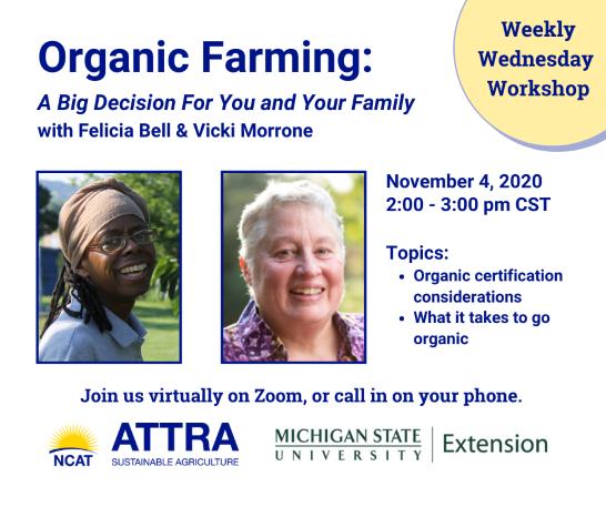 Organic Farming Online Workshop