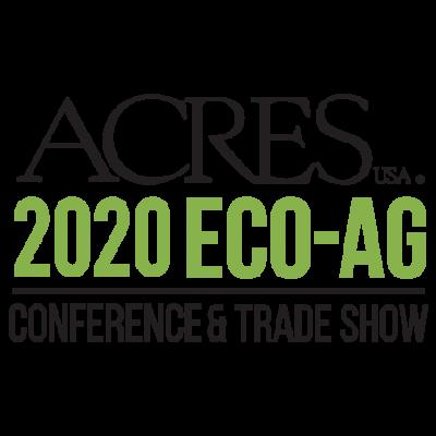 Acres U.S.A. Eco-Ag Conference @ online