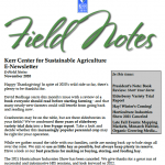 field notes november 2020
