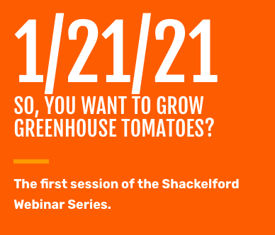 Webinar: So, You Want to Grow Greenhouse Tomatoes? @ online