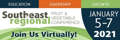 Southeast Regional Fruit and Vegetable Conference @ online