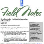 Field Notes January 2021