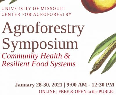 12th Annual Agroforestry Symposium: Community Health & Resilient Food Systems @ online