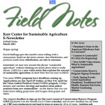 Field Notes March 2021