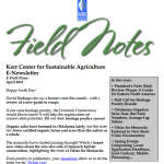 Field Notes April 2021
