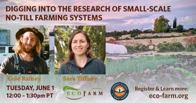 Digging into the Research of Small-Scale No-Till Farming Systems (Webinar) @ online