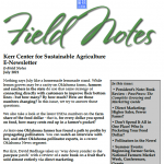 Field Notes July 2021