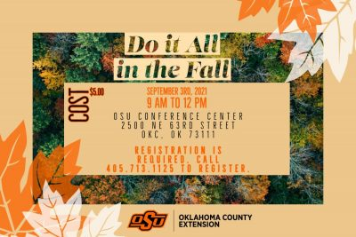 Do it All in the Fall (workshop) @ Oklahoma City (OSU Conference Center)