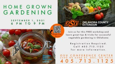 Home Grown Gardening (workshop) @ Oklahoma City (OSU Conference Center)