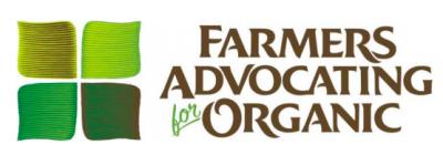 Farmers Advocating for Organic - Grants (application deadline)