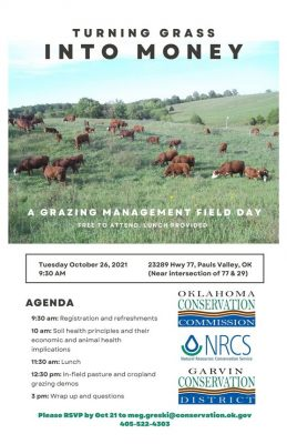 Turning Grass into Money (field day) @ Pauls Valley