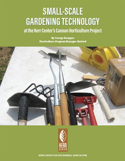 small scale gardening technology